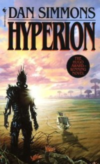 Book cover for HYPERION by Dan Simmons