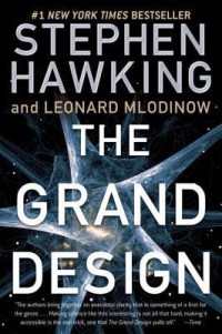 Book cover for THE GRAND DESIGN by Stephen Hawking and Leonard Mlodinow