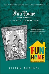 Book cover for FUN HOME by Alison Bechdel