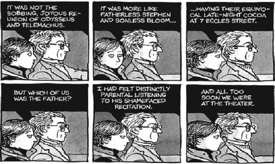 Ulysses comic from Alison Bechdel's FUN HOME