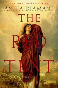 Book cover for THE RED TENT by Anita Diamant