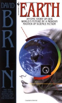 Book cover for EARTH by David Brin