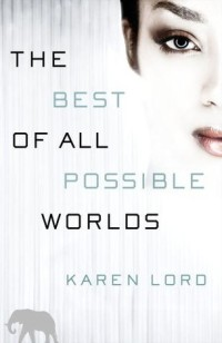 Book cover for THE BEST OF ALL POSSIBLE WORLDS by Karen Lord