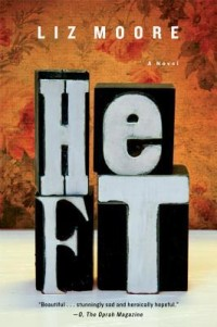 Book cover for HEFT by Liz Moore
