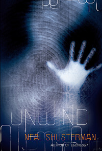 Book cover for UNWIND by Neal Shusterman