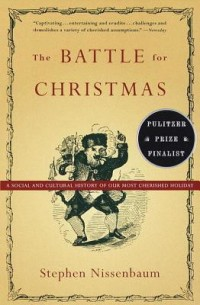 Book cover for THE BATTLE OF CHRISTMAS by Stephen Nissenbaum